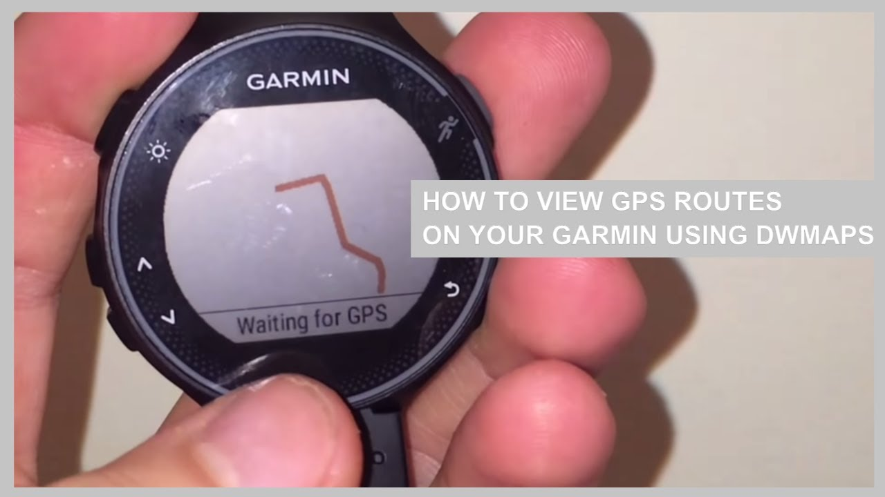 traccia gps da garmin connect