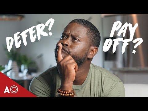 why-deferring-loans-is-dumb!