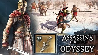 Assassin's Creed Odyssey - Legendary Sword and Weapons! New Combat and Free Roam Gameplay!