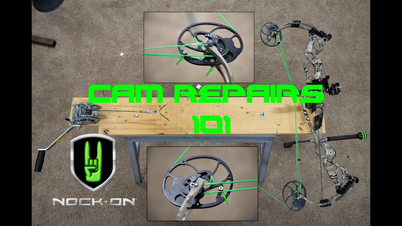 Cam Track Repair for Compound Bows with John Dudley