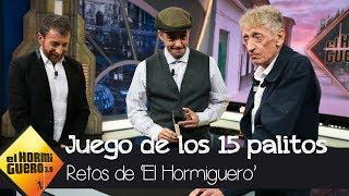 Don Rogelio gana a Enrique San Francisco en el 'Juego de los 15 palitos' - El Hormiguero 3.0