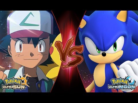 Pokemon Crossover Battle: Ash Vs Sonic The Hedgehog (Sonic Vs Pokémon)