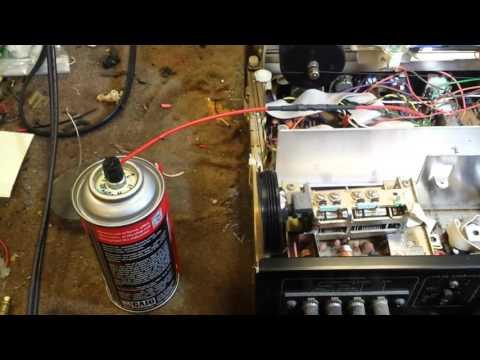 Servicing a vintage pioneer sx-580 receiver