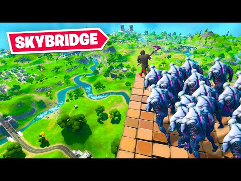 WE BROKE ZOMBIES In Fortnite...