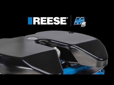 Introducing the Reese® M5 Fifth Wheel Hitch
