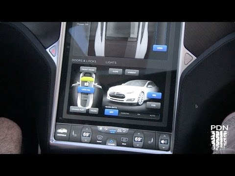 Bad Ass Control Panel - Tesla Dash