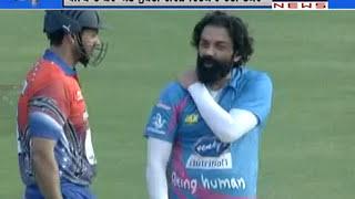 Punjab De Sher vs Mumbai Heroes Cricket Match | Celebrity Cricket League Exhibition Match 2015