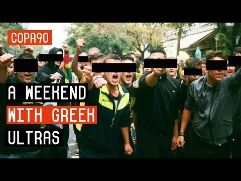 A Mental Weekend With Greek Ultras | SUPER3 & The Thessaloniki Derby