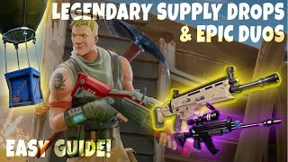 TOP TIPS To Get LEGENDARY Supply Drop Loots! | Fortnite