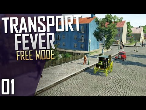 Transport Fever | Free Mode | Part 1
