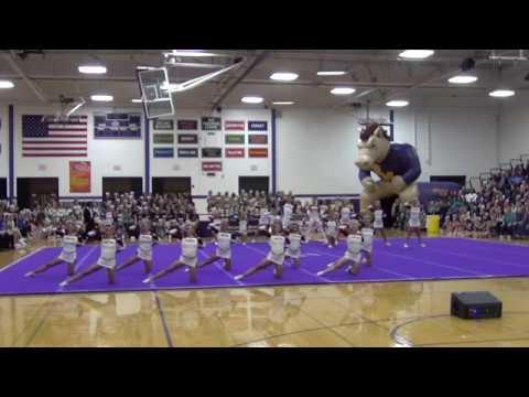 LTHS Varsity Cheer @ Rolling Meadows