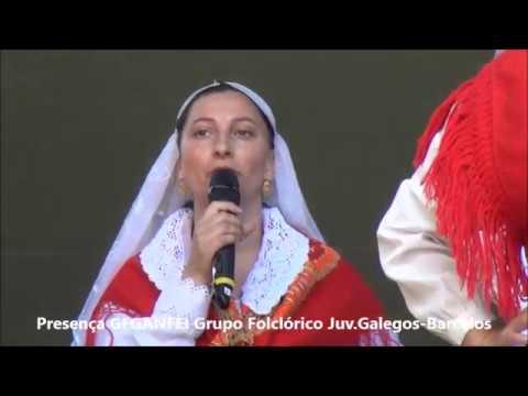 G.F. GANFEI Grupo Folclórico Juv. Galegos  Barcelos