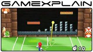 Mario Tennis Open - Super Mario Tennis 1-2 Special Game (Gameplay Footage - Nintendo 3DS)