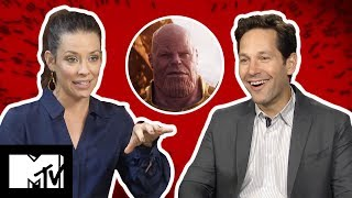 Ant-Man And The Wasp Cast | Deleted Scenes | MTV Movies