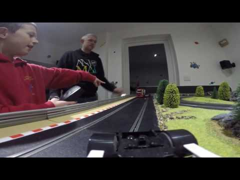 He wanted a Porsche! – Scalextric….