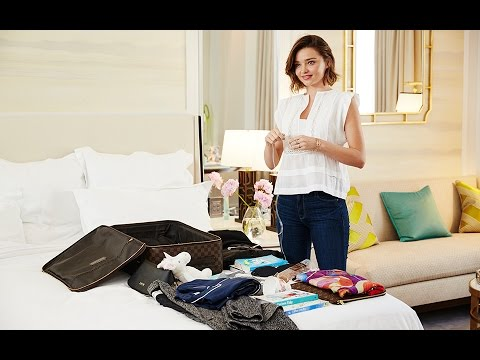 Secrets of a Supermodel Suitcase, with Miranda Kerr