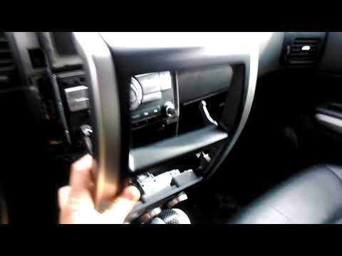 Как снять головное устройство на Nissan X Trail T31