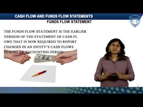 CASH FLOW AND FUNDS FLOW STATEMENTS