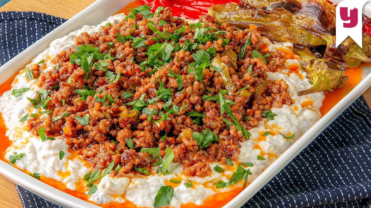 Alinazik Kebabı Tarifi / Alinazik Kebabı Nasıl Yapılır? - Yasemin'le Tam Kıvamında! #20 | Yemek