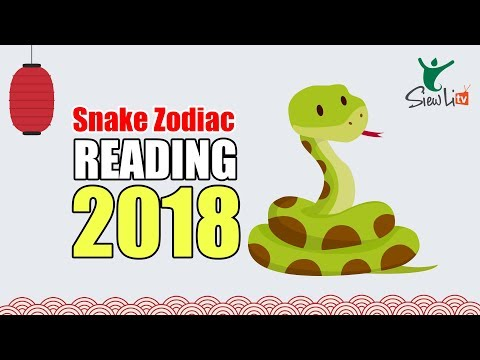 Snake Zodiac Reading 2018