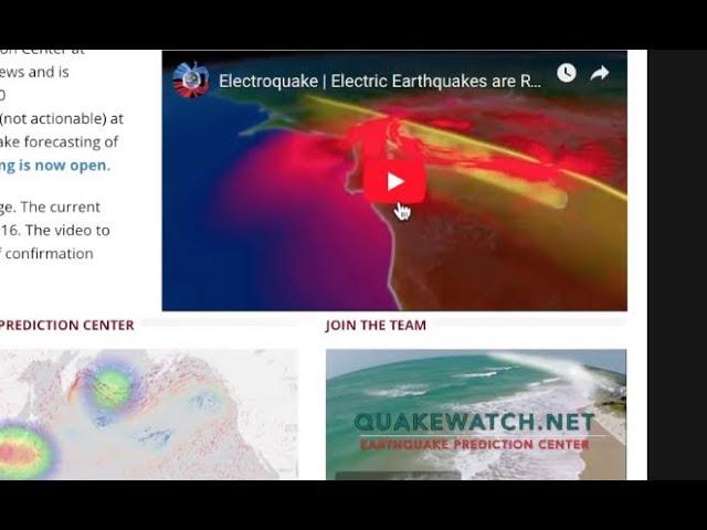Successful Long-Term Earthquake Forecast #1