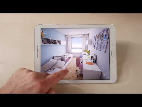 Archviz Realtime Presentation For Tablets