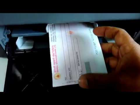 How to Print Cheques : New Video