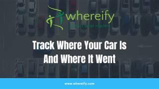 Car GPS Tracking Whereify Promo1