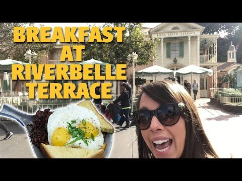 Breakfast at Riverbelle Terrace | Disneyland Park