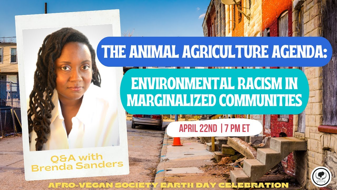 LIVE Q&A | The Animal Agriculture Agenda: Environmental Racism in Marginalized Communities