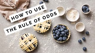 INSTANTLY Improve your Food Photography with the Rule of Odds (+ FREE composition kit)