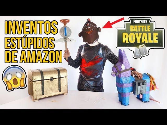 Youtube Inventos Amazon De Muy Fortnite Estúpidos 3 Disfraces OPkiZXu