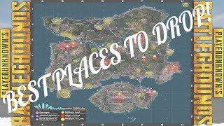 PUBG LOOT MAP EXPLANATION: WHERE/WHEN TO DROP!