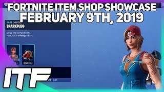 Fortnite Item Shop *NEW* KITBASH AND SPARKPLUG SKIN! [February 9th, 2019] (Fortnite Battle Royale)