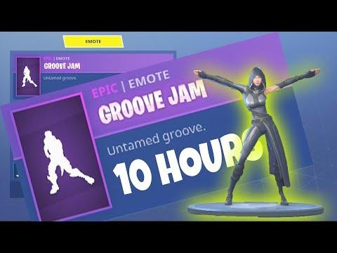 FORTNITE *New* FATE Skin GROOVE JAM EMOTE / DANCE 10 HOURS