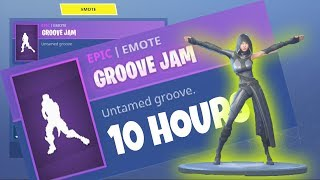 FORTNITE *New* FATE Skin GROOVE JAM EMOTE / DANCE 10 HOURS