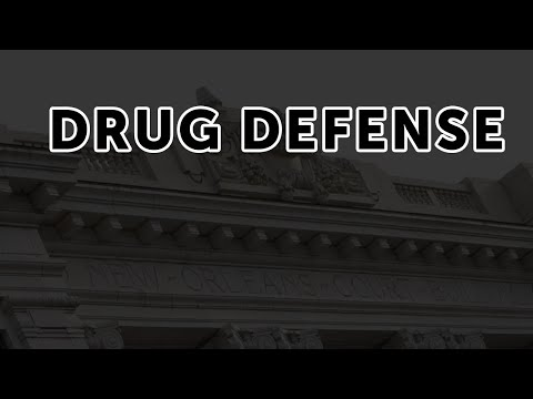 John Jewell Pace on Drug Defense