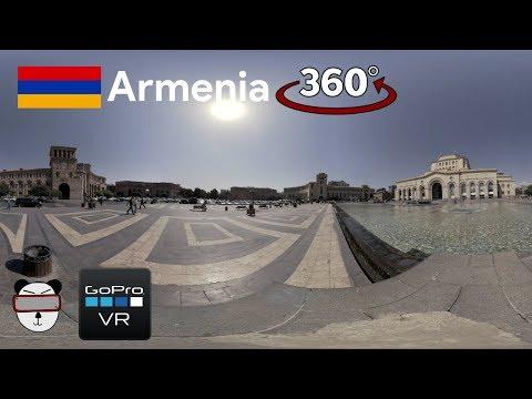 360° GoPro Omni VR: Republic Square | Yerevan, Armenia