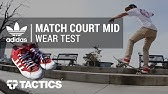 1f2ec8cf6a67 2 36. Play next  Play now. Adidas Matchcourt Slip Skate Shoes Wear Test ...