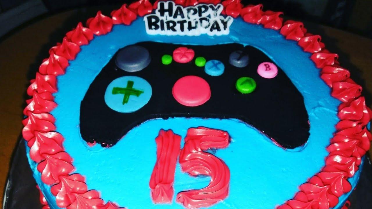 Decoracion De Cake De Xbox One Youtube