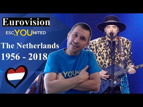 The Netherlands in Eurovision: All songs from 1956-2018 (REACTION)