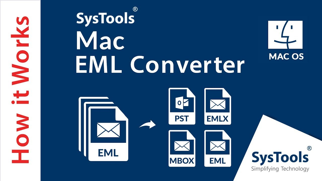 EML Converter Software for Mac to Export EML to MBOX in