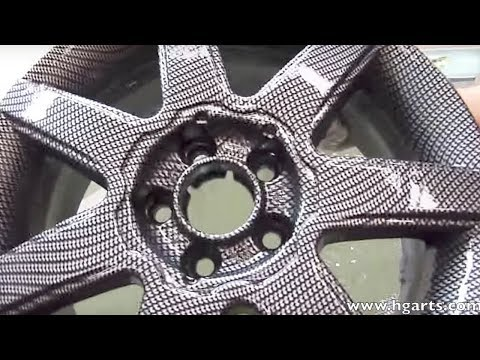 Water Transfer Printing - Hydrographics - Wassertransferdruck | HG Arts
