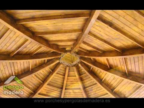 Cubiertas de madera pergomadera - Carpinteria santa clara ...