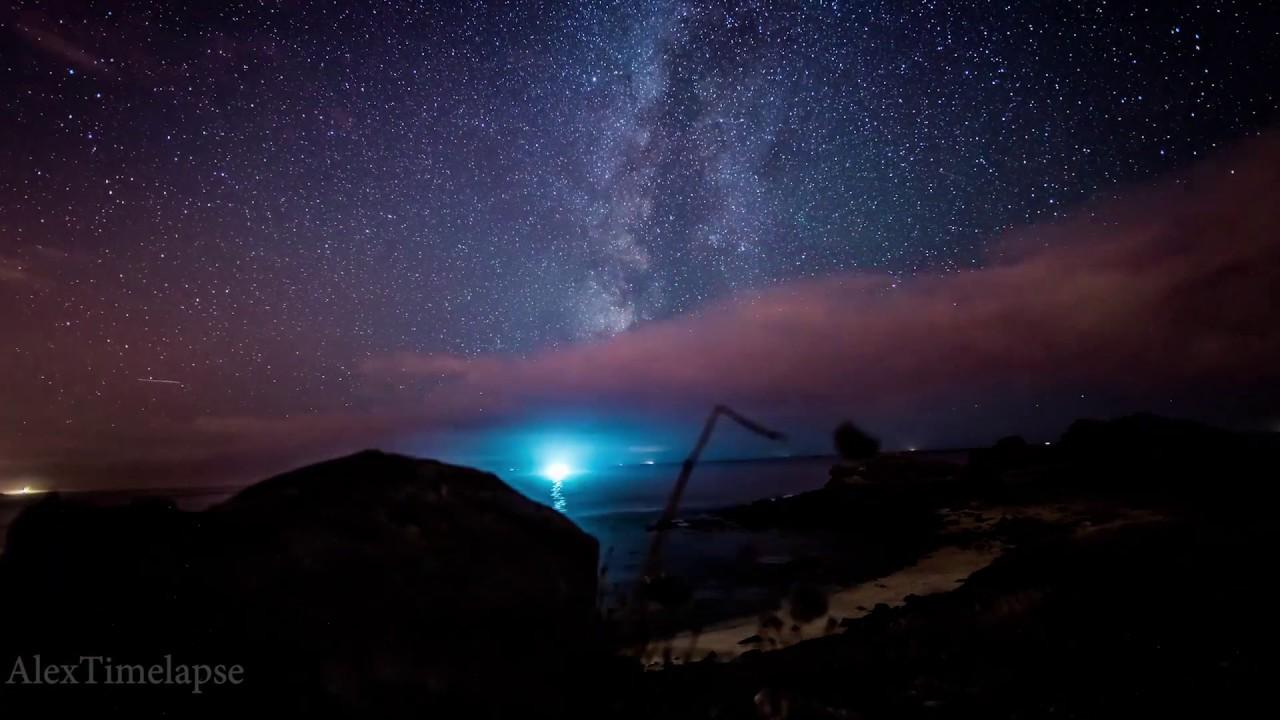 Castros de Baroña , Galicia  - Milky Way Timelapse - by Alex Timelapse