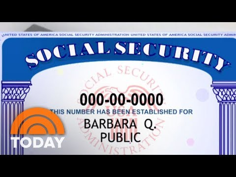 In Wake Of Equifax Breach, Should Social Security Numbers Be Scrapped?   TODAY