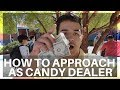 How To Approach People When Selling Candy at School | Candy Dealer Vlog #2 | highschool Examples