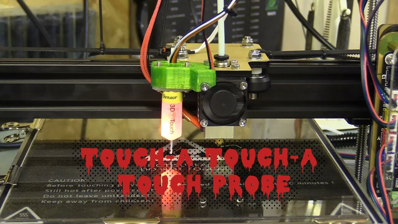 Wiring 3D Touch Probe And Installing on Anet (Fail) & Tarantula (Success)