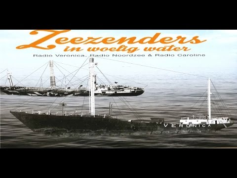 Zeezenders in woelig water