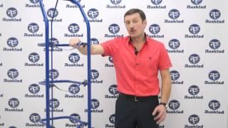 Обзор - Тележка двухколесная для балонов с водой и бутылей ВД 4
